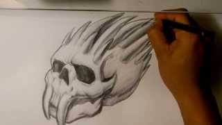 Skull Drawings - Easy Things to Draw