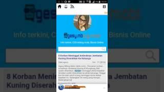 Review teks berjalan di blog builder indonesia terbaru