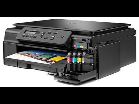 Brother MFC J200 3-in-1 Printer (Set-up)