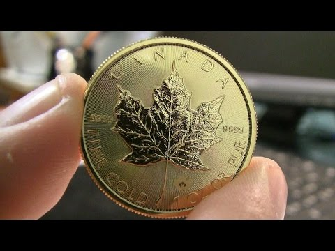 2015 1oz Gold Maple Leaf Unboxing
