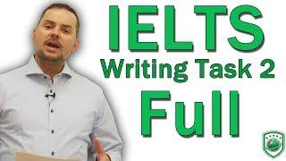 IELTS Task 2 Discuss Both Sides Writing FULL thumbnail