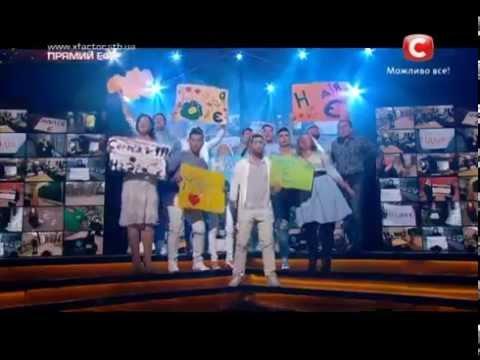 Видео, Х фактор 5  Общая песня   Надя Mad Heads cover   Третий прямой эфир 22 11 2014