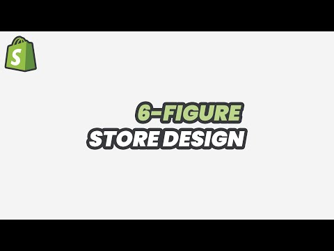 How to Design a High Converting (No PayPal) Store in 6 MINUTES | 2019 Shopify Dropshipping thumbnail