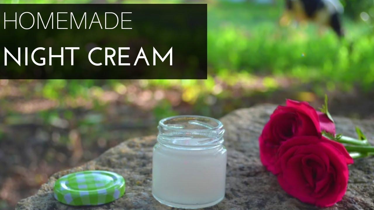 Anti Aging Night Cream Homemade homemade anti aging night cream || aloe vera gel sleeping