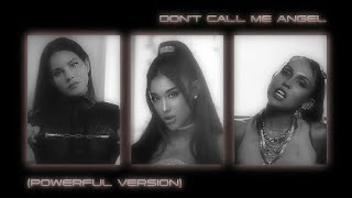 Ariana Grande, Miley Cyrus, Lana Del Rey - Don't Call Me Angel (Powerful Version) / Audio