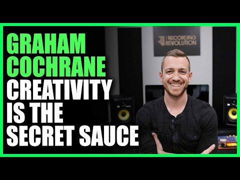 Graham Cochrane: Creativity is the Secret Sauce - Warren Hua