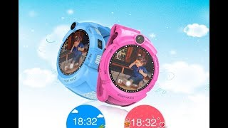 детские умные GPS часы Q360 (GW600, G610, G51) с камерой и фонариком (оригинал)
