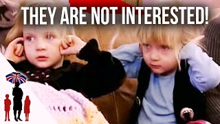 Twins Don't Like The Sound Of New House Rules - Supernanny US