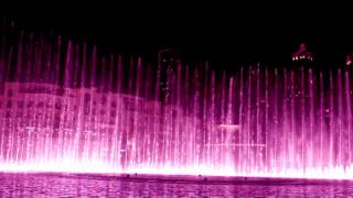 Dubai Water Fountain Dance