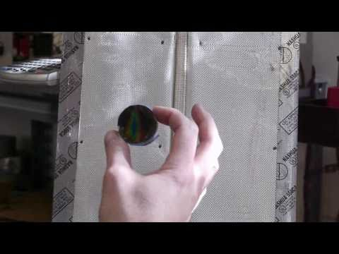 Low-cost DIY thermal imaging - liquid crystal paint testing