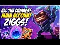 ALL THE DAMAGE! ZIGGS MID - Climb to Master S8 | League of Legends