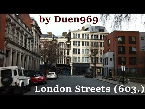 London Streets (603.) - Bethnal Green - Newington Green - Wood Green