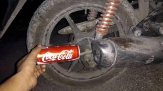 We discover DUKE sound in Honda Twister bike
