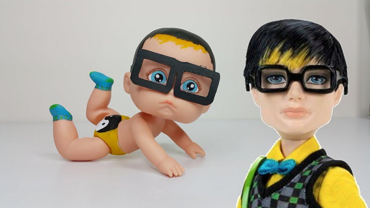 Jackson jekyll themed baby monster high youtube - Monster high jackson ...