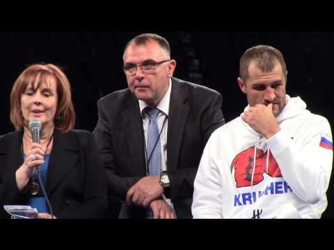 SERGEY KOVALEV REACTS TO LOSING TO ANDRE WARD. WARD VS KOVALEV FULL POST FIGHT