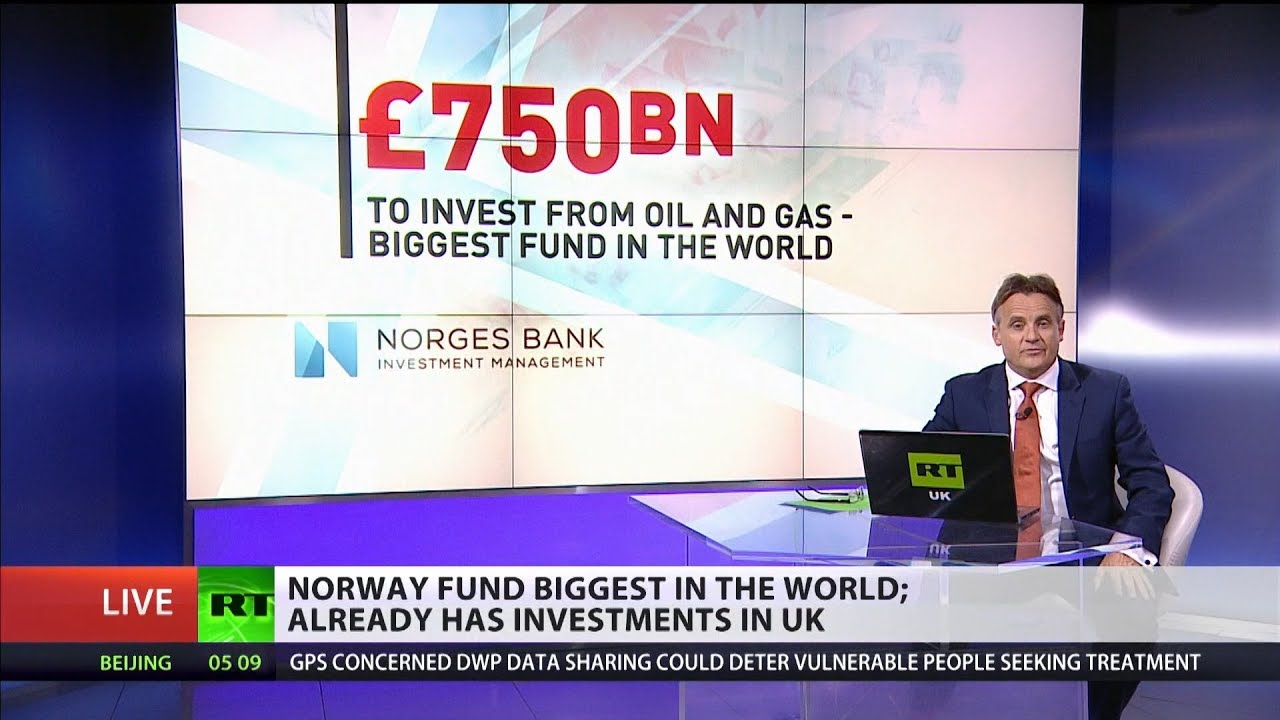 Norway fund biggest in the world
