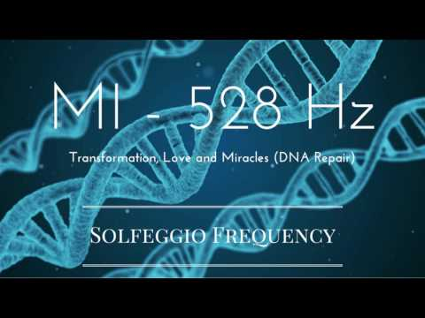 MI - 528 Hz | pure tone | Solfeggio Frequency | Transformation, Love and Miracles (DNA Repair)