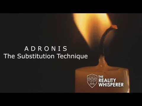 Adronis - The Substitution Technique