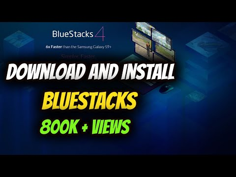 HOW TO DOWNLOAD AND INSTALL BLUESTACKS ON PC FREE 2017