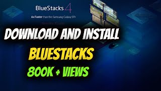 Gambar cover HOW TO DOWNLOAD AND INSTALL BLUESTACKS ON PC FREE 2017
