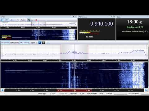 22 04 2018 Trans World Radio Africa in Kunama to EaAf 1800 on 9940 Grigoriopol