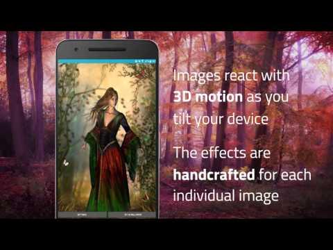 Beautiful 3D Live Wallpaper - Fairy Woods