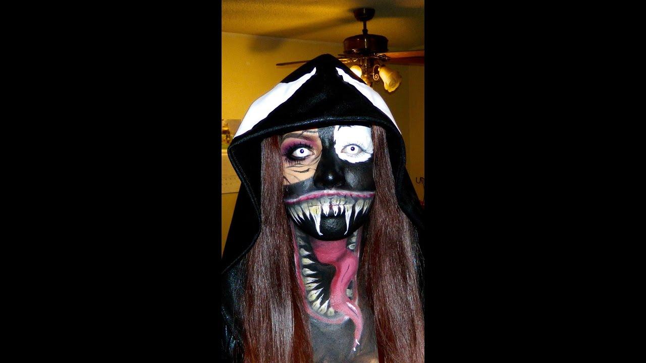 Speed through venom face paint youtube speed through venom face paint baditri Images
