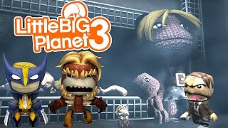 Little Big Planet 3 (PS4): THE HORRIFYING TALE OF DLIVE