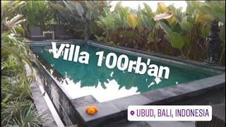 Gambar cover Travelling | Villa di Ubud Bali Cuma 100rb an View Kolam Renang
