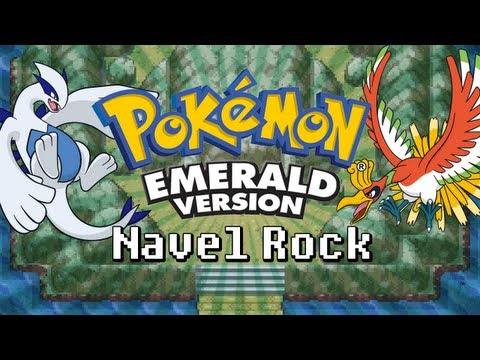 How To Get To Navel Rock In Pokemon Emerald With No