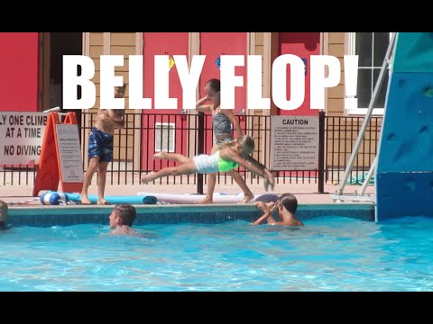 😲PAINFUL KID BELLY FLOPS🏊! BELLY FLOP FAILS | KID BELLY FLOP COMPILATION | DYCHES FAM