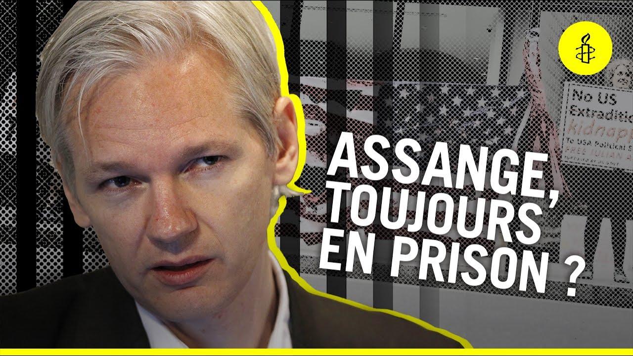 Download Pourquoi Julian Assange est-il toujours en prison ? (pour rien)