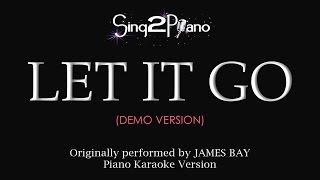 Let It Go James Bay Piano karaoke demo