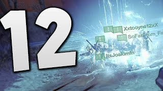Destiny - 12 STRIKER TITANS !!