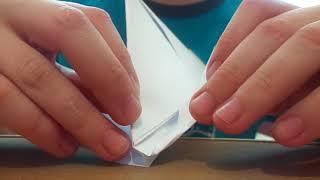 Видео-урок как делать кораблики из бумаги А4 своими руками РАКА
