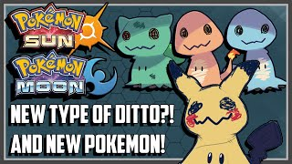 BRAND NEW POKEMON! IS THAT A NEW TYPE OF DITTO?! - Pokemon Sun and Moon