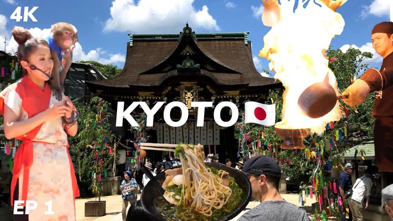 KYOTO JAPAN SUMMER TOUR 4K ??[Ep 1] Digital Nomad Vlog #104
