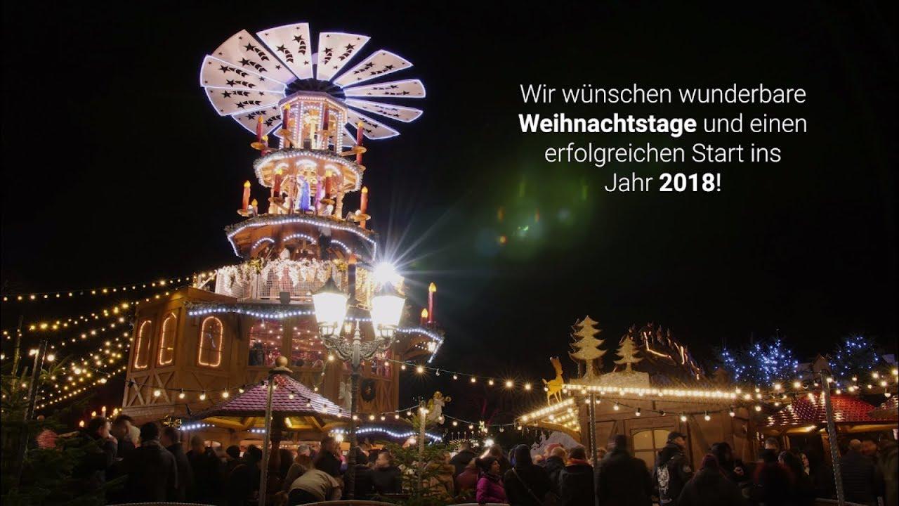 frohe weihnachten und ein erfolgreiches jahr 2018 weihnachtsgr e von e r solutions youtube