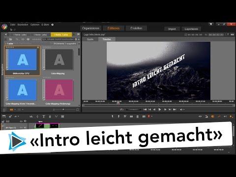 Intro  und Logo Animation erstellen mit Pinnacle Studio 19