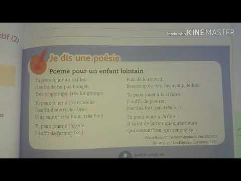 La Poésie 3 Poème Pour Un Enfant Lointain4aepmes