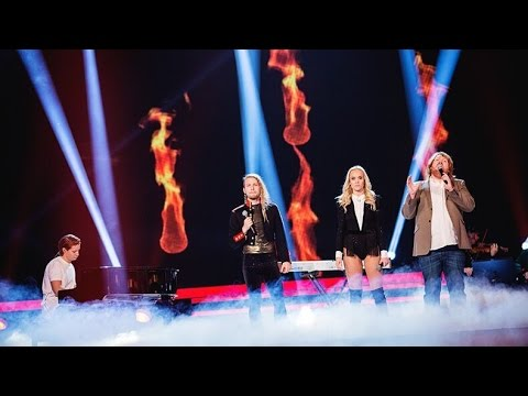 Kygo feat Swedish Idols - Firestone (Live) - Swedish Idol 2015