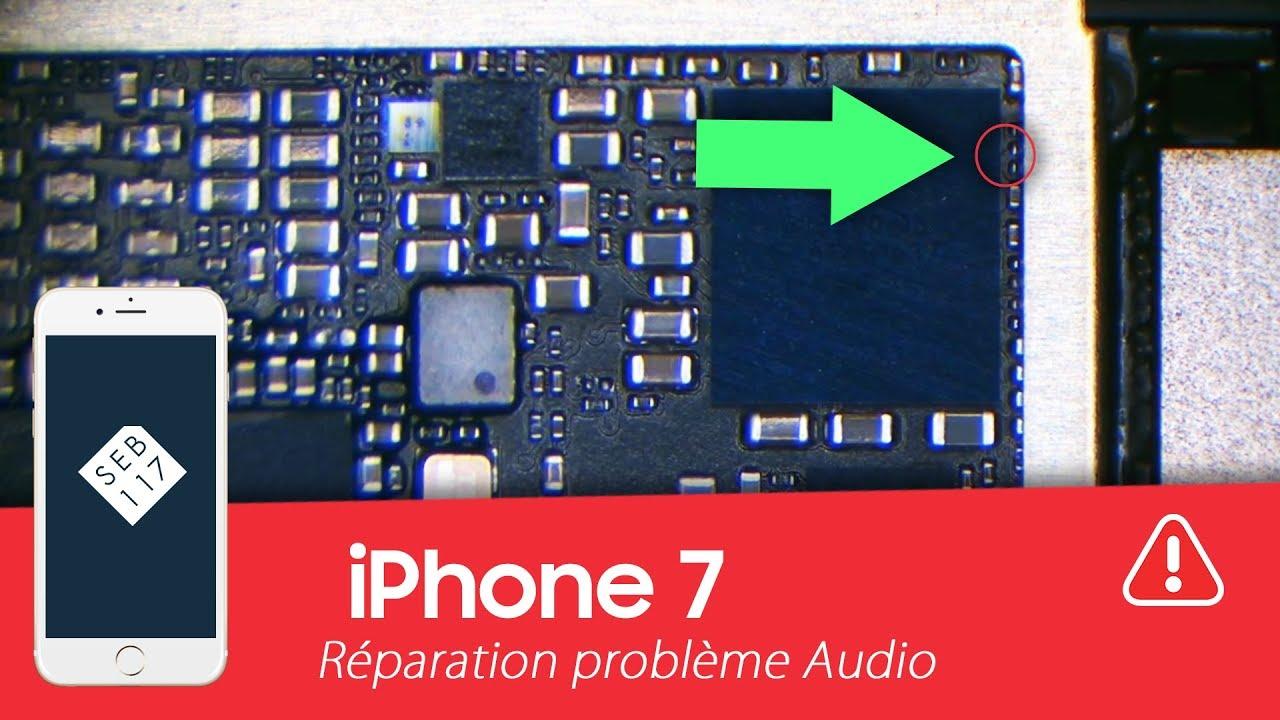 Seb117fr Réparation Iphone 7 Avec Un Problème De Son