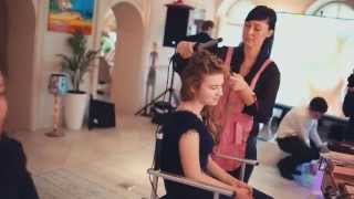 День рождения Марии. Съемка видео клипа.