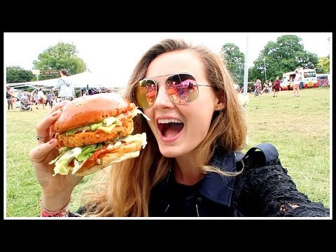 BIGGEST BURGER AT WILDERNESS FESTIVAL 2017 | Niomi Smart