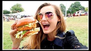 BIGGEST BURGER AT WILDERNESS FESTIVAL 2017 | Niomi Smart