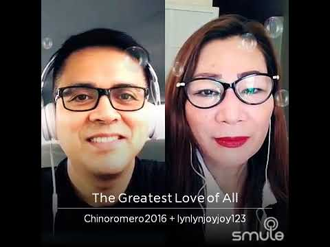 The Greatest love of ALL tula@sing by chenoromero❤❤❤