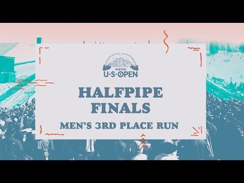 2018 Burton U·S·Open Men's Halfpipe Finals – Scotty James' 3rd Place Run