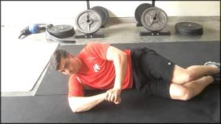 Rotator Cuff Exercises - Sleeper Stretch