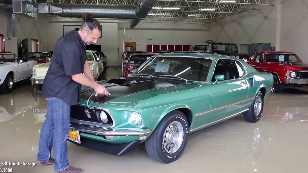 69 ford mustang mach 1 for sale with test drive driving sounds and walk through video