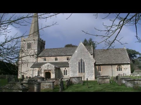 'Down Ampney' - tune by Ralph Vaughan Williams to 'Come Down O Love Divine'.